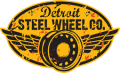Detroit Steel Wheel Logo
